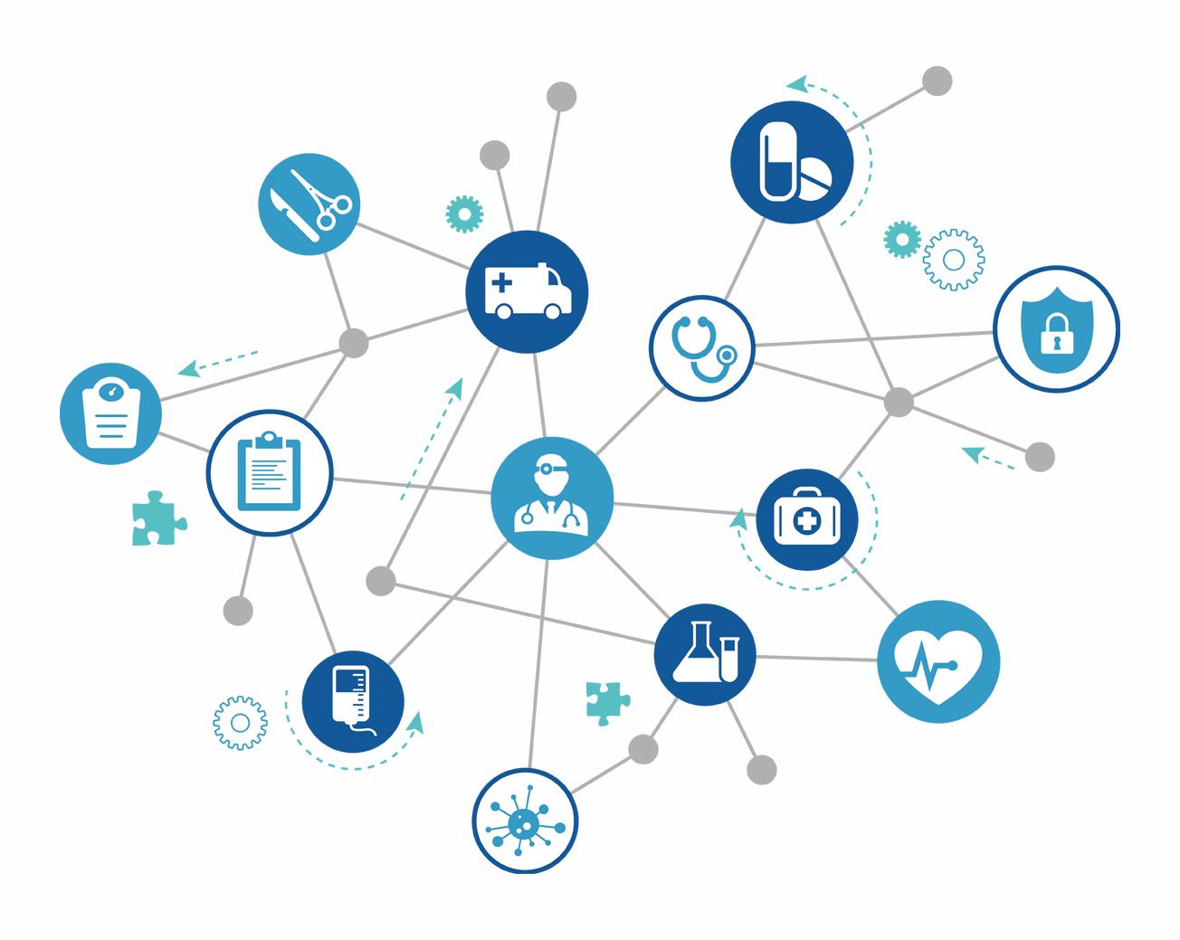 専門医療機関との豊富なネットワーク
